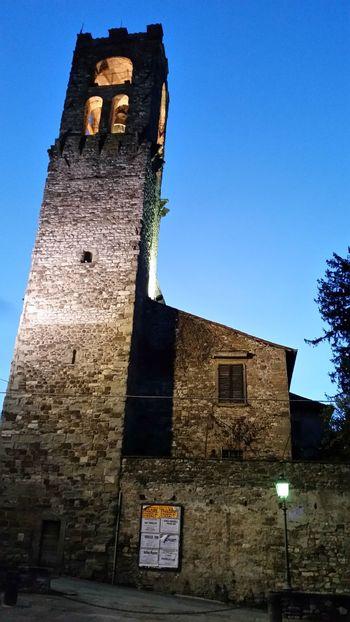 Church Churches Bell Tower Bibbiena Casentino Tuscany 2006 March 2016