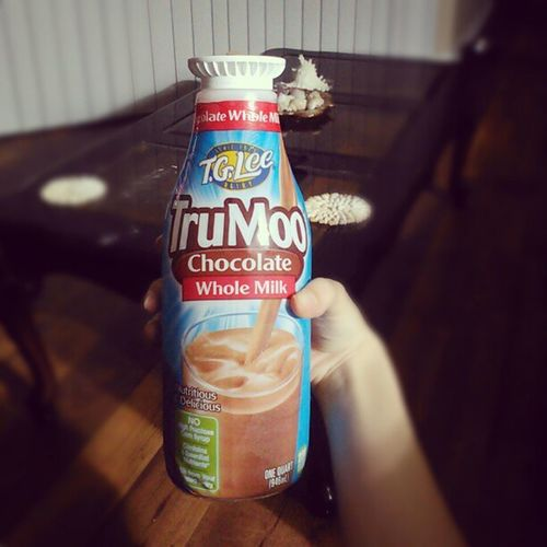 Just me and my TruMoo tonight Trumoo Truelove Chocolatemilk Dabomb lonelygirl