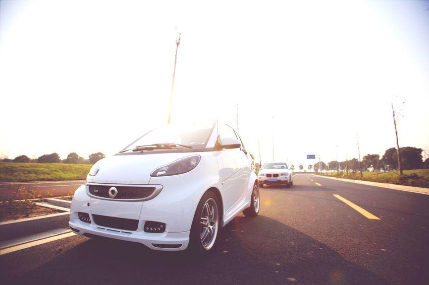Smart Smart Brabus Car Photography