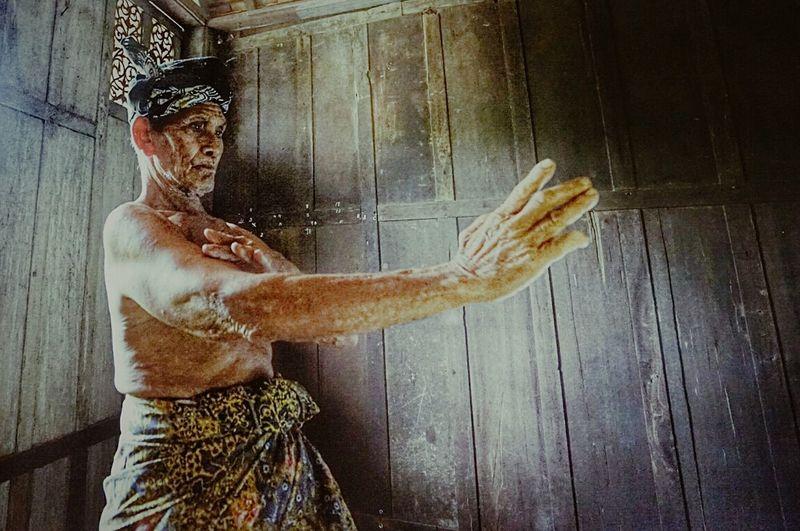 Silat , a Malay martial arts
