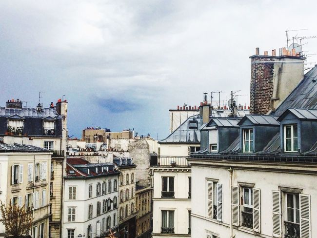 The Week On EyeEm Architecture Building Exterior Built Structure Sky Residential Building No People Day Cloud - Sky City Outdoors Cityscape Paris Paris, France