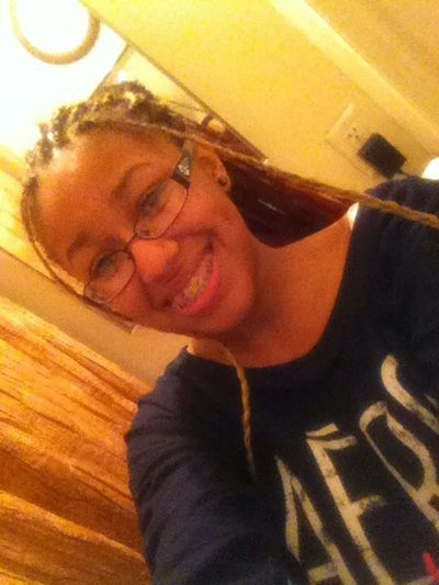 When ifirst got my braids (: