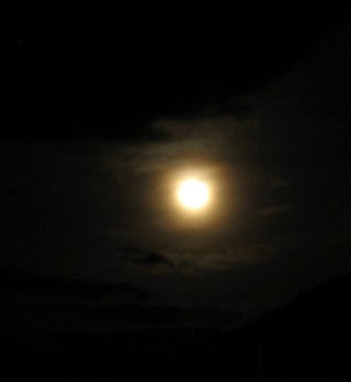 Hagamos que la Luna se sonroje! Supermoon 2013 Moon Night Lights