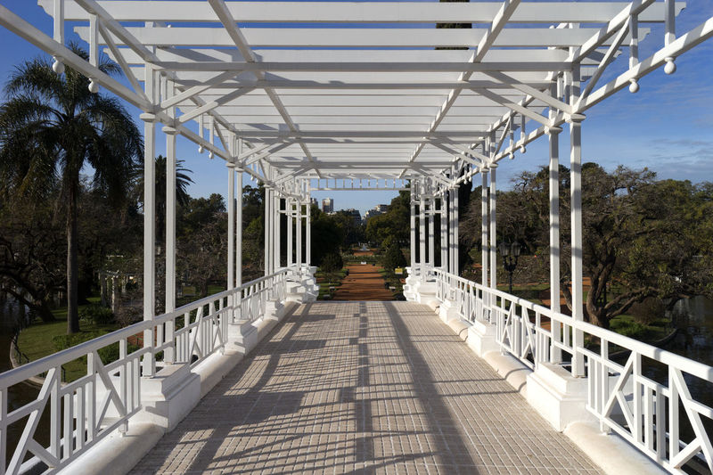 Puente Griego - Greek Bridge - El Rosedal, Palermo, Buenos Aires Argentina Architecture Argentina Bridge Buenos Aires Buenos Aires, Argentina  Built Structure Day El Rosedal, Buenos A Greek Style Greek Style Bridge No People Outdoors Palermo, Buenos Aires Sky Sunlight Sunlight, Shades And Shadows White