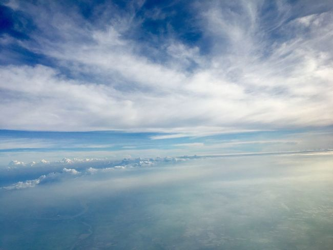 Sky & Cloud Cloud - Sky Sky Beauty In Nature Scenics - Nature Tranquility Tranquil Scene No People Nature Blue Day Capture Tomorrow