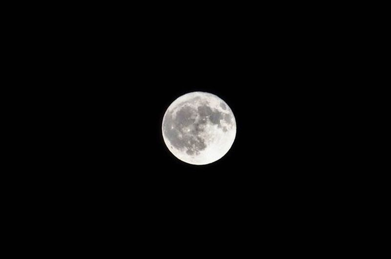 Moon Harvestmoon Poornima Sharadpurnima Night Full Moon Outdoors Close-up