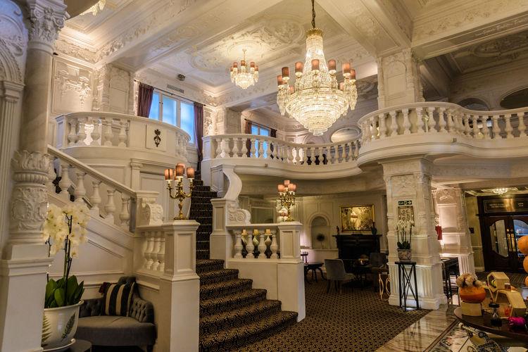 Lovely lobby of