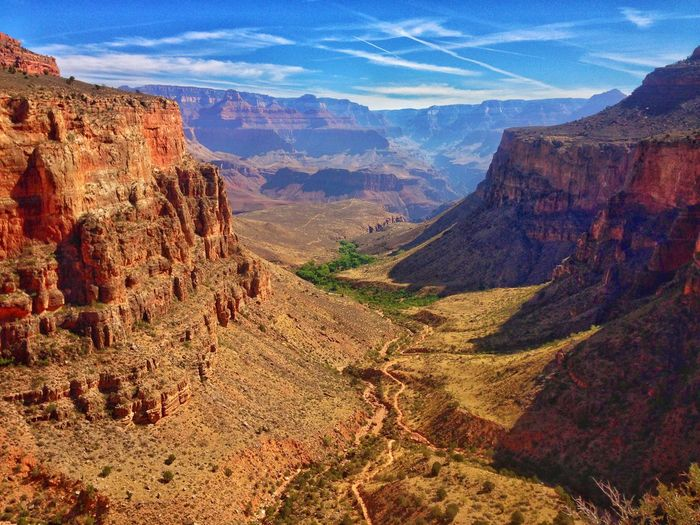 Idyllic Shot Of Grand Canyon National Park Against Sky