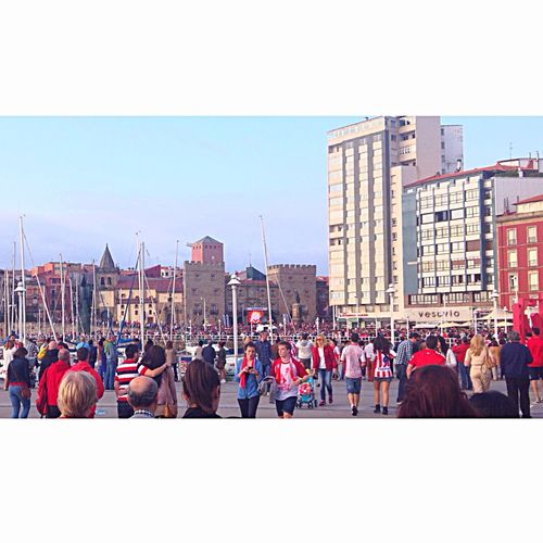 Gracias Guajes! Subimos a primera!! 👏❤️ | Thanks children!! Let's first division!! PuxaSporting  Puxaasturies SportingDeGijón Gijon_asturias Getting Inspired Gijón OpenEdit