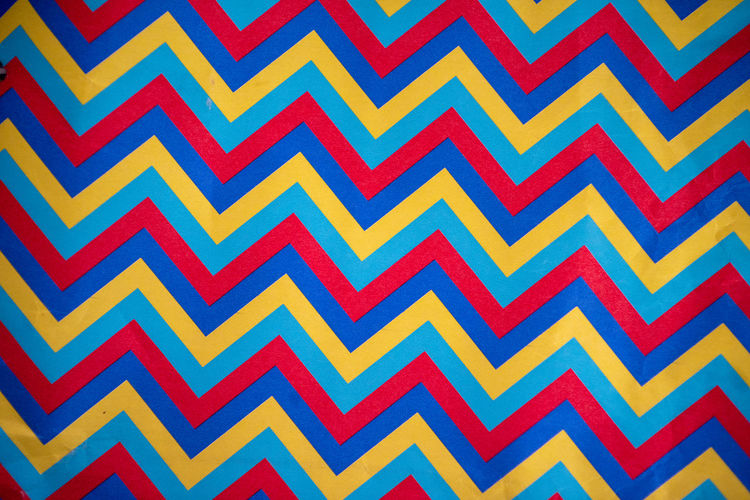 Lines Backgrounds Pattern Full Frame No People Multi Colored Design Indoors  Repetition Close-up Textured  Red Side By Side Yellow Blue