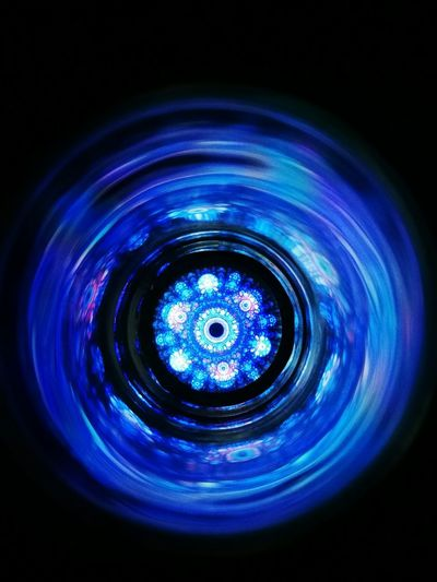 Fractals Blue Light Painting Deep Feeling In The Dark EyeEmNewHere looks like an Iris . . . HuaweiP9 Leica Mode
