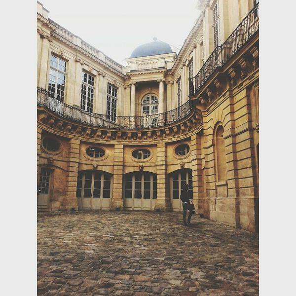 Hotel de Beauvais Paris France Classical Architecture Stone Hotel Beauvais