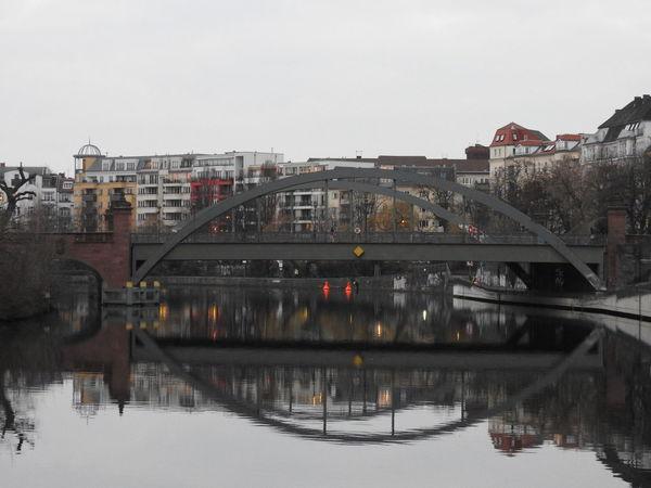 Architecture Bridge Bridge - Man Made Structure Built Structure Connection Metal River