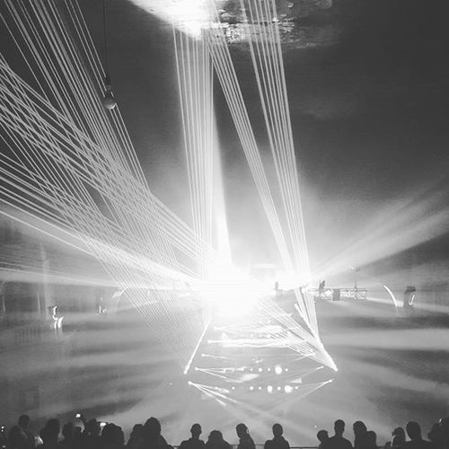 Great night of doing what I love - dnb, wifey and dancing all night loooong! 🎶❤👟 Laser Lasershow Andyc Rave DrumnBass Drumandbass Bass Allnightlong Dance Brixton Academy London