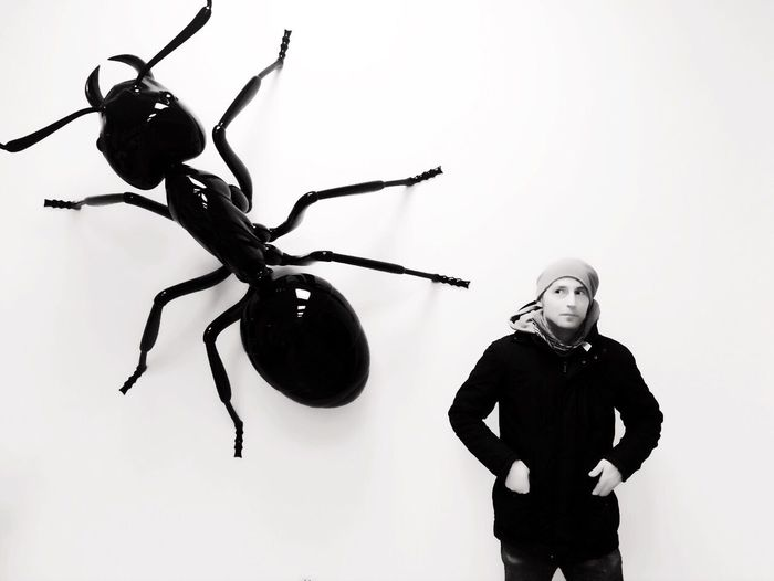 One Person Blackandwhite Portrait Ant Black & White What Is That? Scary BIG Perfect Reality Pet Portraits