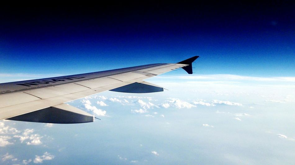 Fliying Airplane Wing