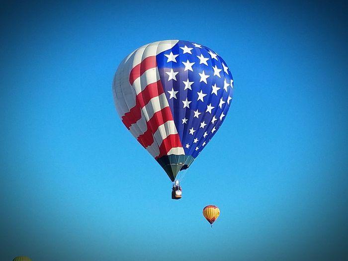 Hot Air Balloon Reno Baloon Races Early Morning Cold Morning Cold Morning Blue Sky Beautiful☀️❄️💞 Family Fun Reno, NV