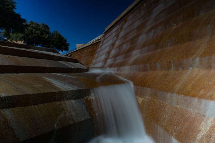 Backgrounds Falling Water Long Exposure Motion Motion Blur Park - Man Made Space Sunny Day Waterfall