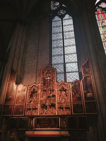 Religion No People Architecture Köln, Germany Cologne Kölner Dom Cathedral Cologne Dom Kölnerdom Kölner Dom Domplatz Cologne , Köln,  Architecture Window Stained Glass Köln Dom