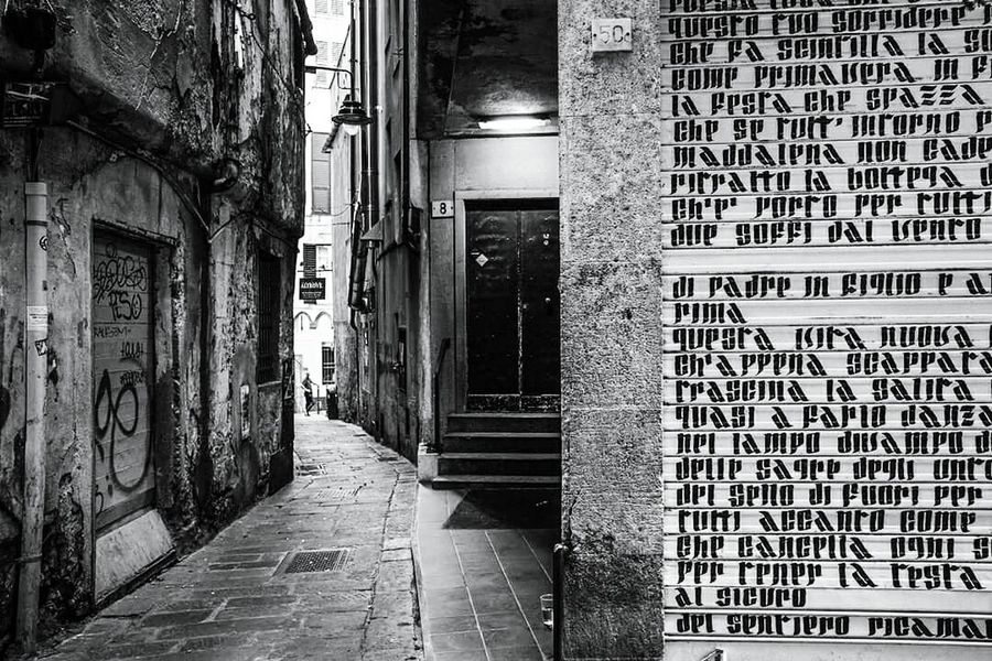 I segreti di Genova Genova Genoa Genova ♥ Liguria EyeEm Liguria Historical Center First Eyeem Photo Blackandwhite B&w