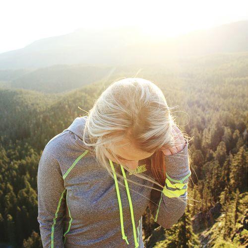 First photo on Eyem PNW Instagram Adventure Hike Sunrise Girl Swag Mountain Oregon