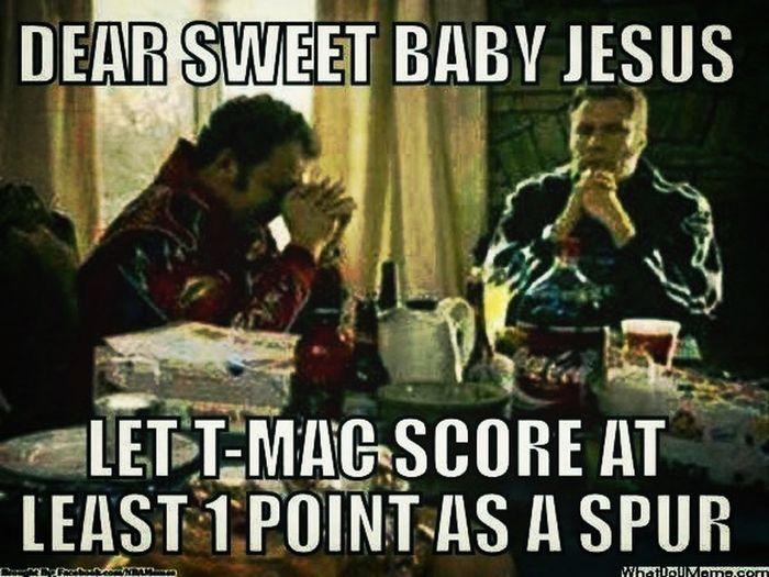 T-Mac Spurs