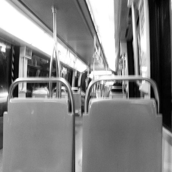 Metro en Enero ... Quédense todos bien lejos.. Acá estamos bien :)