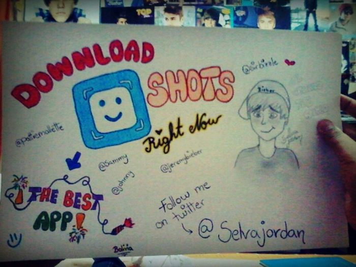 Download Shots Right Now Belieber Justin Perfecto Bieber Follow Me on Twitter @selvajordan :)