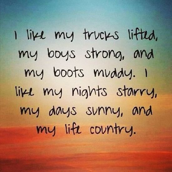 Country boys :)