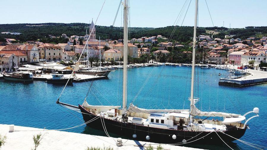 Water Nautical Vessel Yacht Mast Yachting Sea Moored Sailboat Sailing Sailing Ship Marina