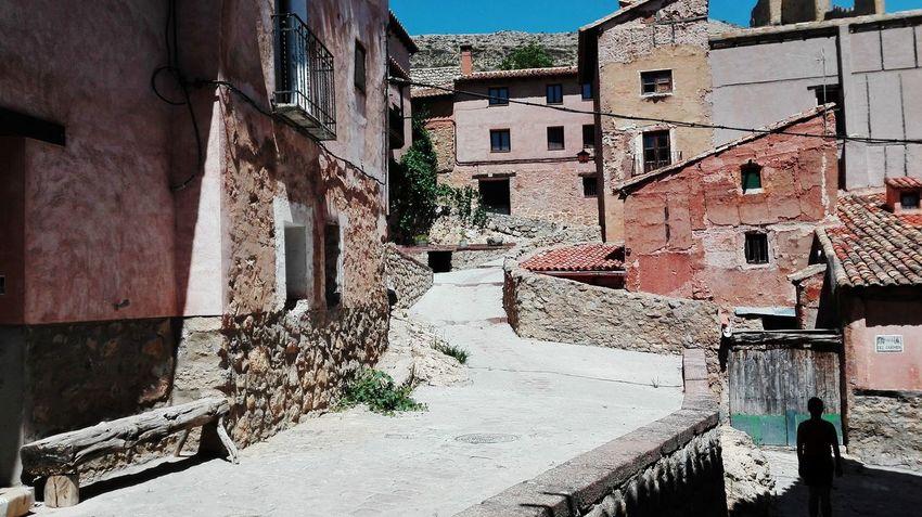 Architecture Outdoors Albarracín Travel Destinations Sunlight Day Village Summer SPAIN