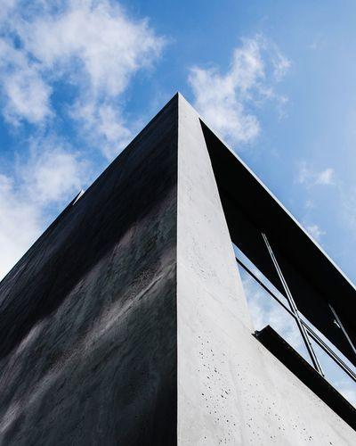 Architecture Architektur Architectural Detail ArchiTexture Sky Kontrast Symmetrical