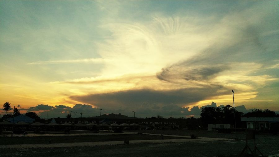 Sunset Tree Sunset Storm Cloud Power In Nature Dramatic Sky Silhouette Sky Cloud - Sky