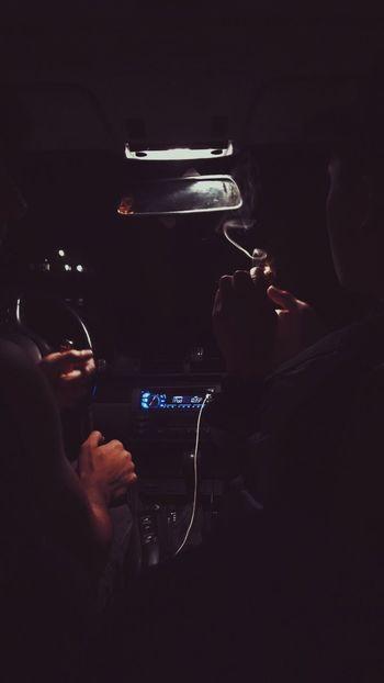 Real People Night Smoke Smoking Late Night