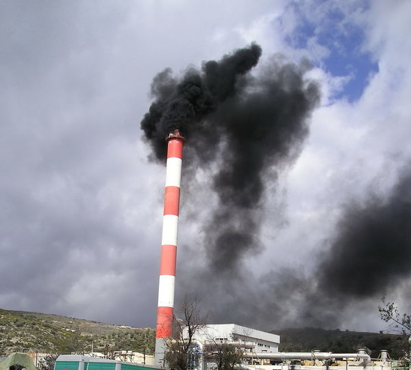 Black Smoke Cloud - Sky Cloudy Environmental Pollution Funnel Funnelcloud Low Angle View Overcast Protection Sky Smoke Stack Tower