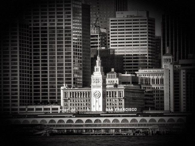 San Francisco Ferrybuilding Citiscape, Architecture