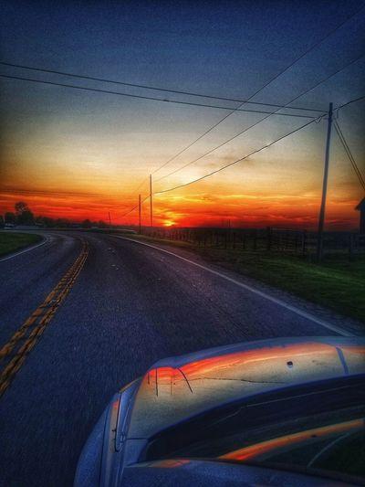 Horizon aflame