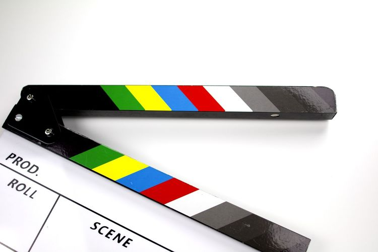 Canon 70d Check This Out Close-up Fanned Out Film Film Industry Icon MOVIE Movie Clapper Multi Colored No People Reminder Studio Studio Photography Studio Shot Taking Photos Technology White Background