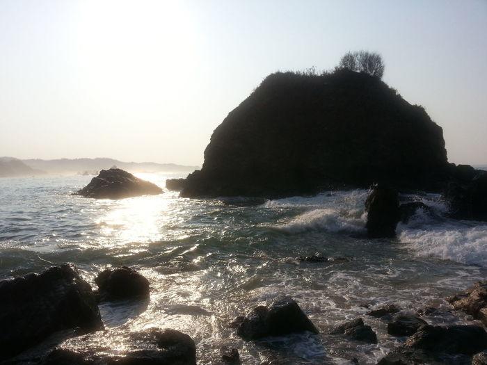 Enjoying The Sun Beach Mexico No Filter