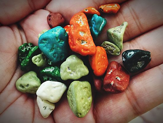 Pebble Candies 🍬 Human Body Part Real People One Person Holding Unrecognizable Person Human Finger Lifestyles Food And Drink Leisure Activity Food Personal Perspective Freshness Healthy Eating Close-up Women Indoors  Day People Adults Only
