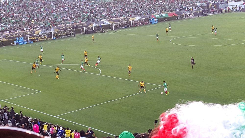 Crowd Stadium Pasadena, California Lifeisbeautiful Soccer Rosebowl Passionate Copa America Centenario