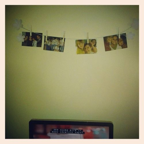 Look at my walls, look how they have a bunnnch of yoooou... Yea they were all yellow... Neverrealized Friends Pictures Yellow cute needtopaintobviously