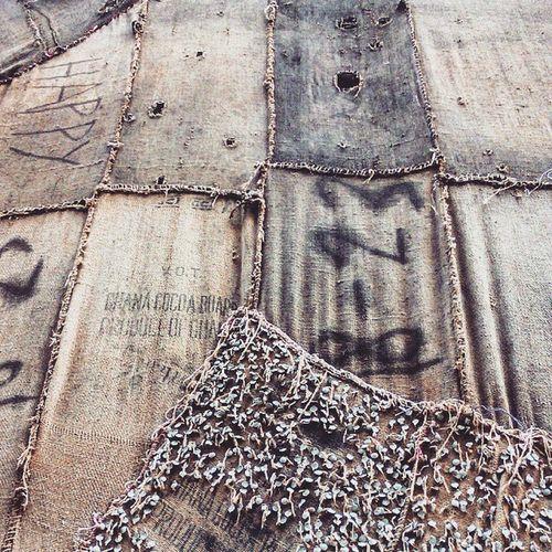 Venicebiennale Venicebiennale2015 Contemporary Art Arte Povera Sack Arsenale Corderie Onthewall Okwuienwezor Alltheworldsfutures IbrahimMahama