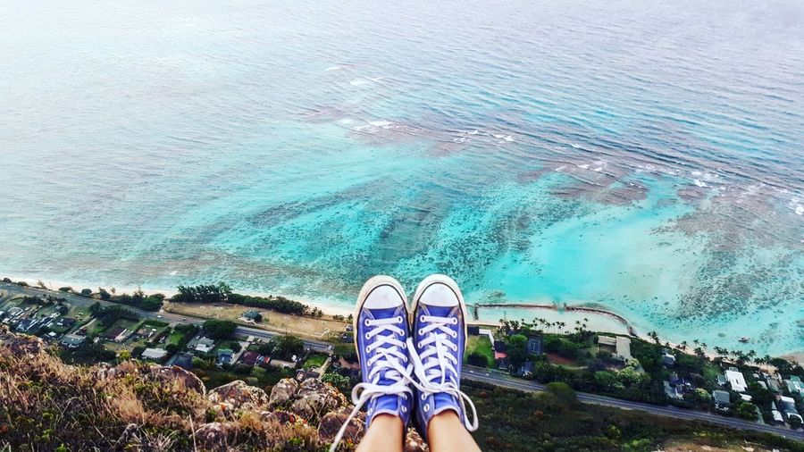 Check This Out Relaxing Enjoying Life Hanging Out Hello World That's Me Taking Photos PeopleOfTheOceans Hikingadventures Nature Photography Ocean View Hiking Oahu Converse All Star Deadmanscatwalk Oahu, Hawaii People Of The Oceans Out Of The Box Summer Exploratorium