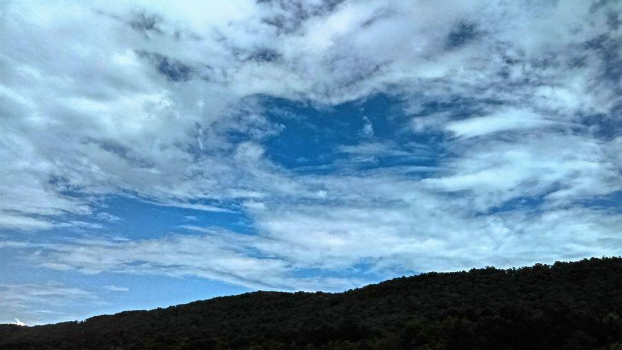 Skyscape Mountain Mountainrange Bluesky Scape Unitedstates Gallant Alabama September Summer Mobilephotography Outdoors Nature Cloudscape EyeEm Light Vertical Symmetry EyeEm Best Shots - Nature Alabama Outdoors Clouds EyeEm Best Shots Mobilephoto Mobile Photography