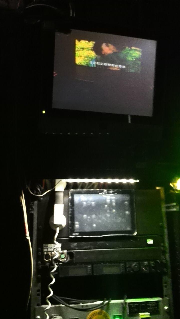 technology, illuminated, indoors, no people, night, close-up, film industry