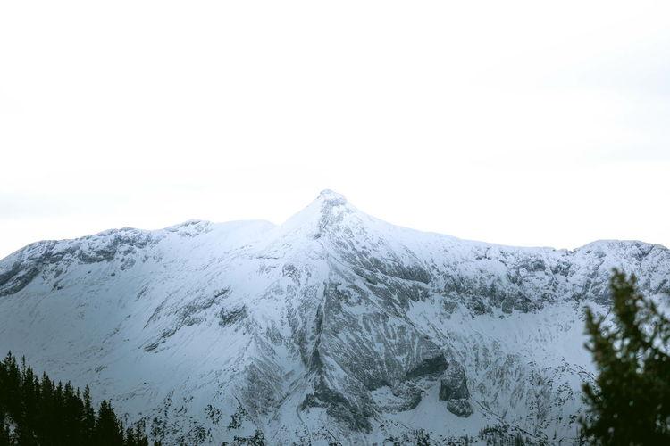 Winter Nature Mountains Snow
