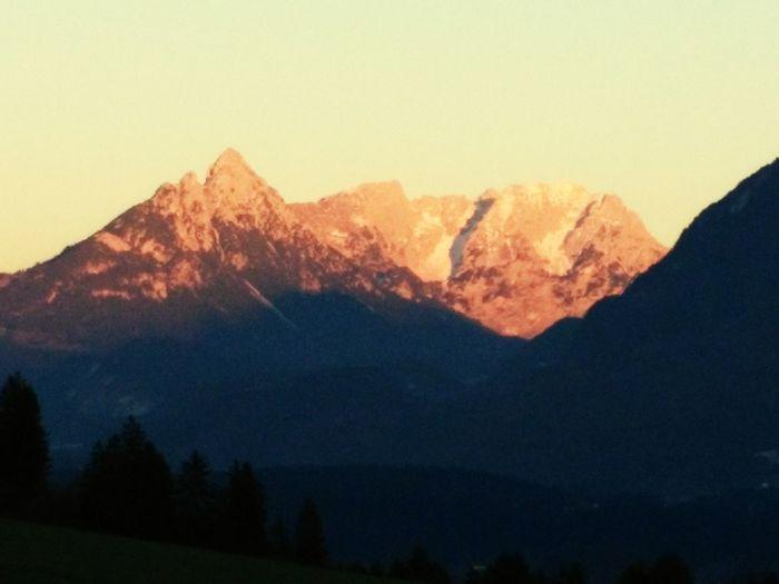 Sunset At Wilder Kaiser