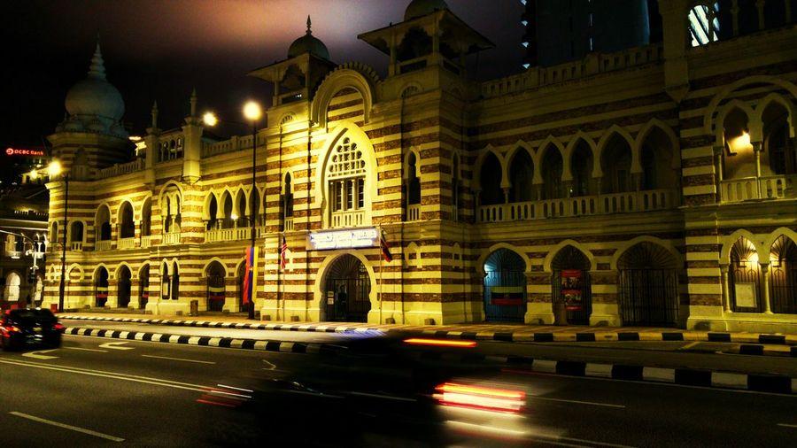 Walks in the night~ Illuminated Night Travel Destinations No People Architecture City Malaysia Kuala Lumpur History History Museum