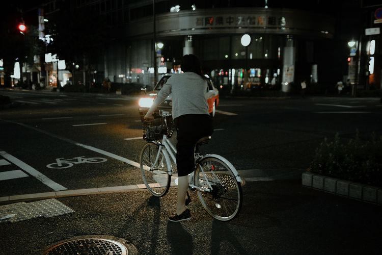 Bike Japan On The Way Street Photography